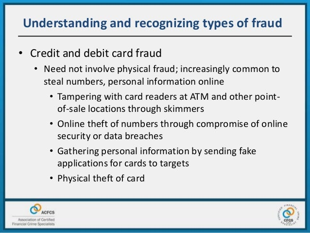 the possible methods of fraud Auditors' responsibility for fraud detection  you may become aware of circumstances that indicate the possible presence of an attitude or ability to rationalize .