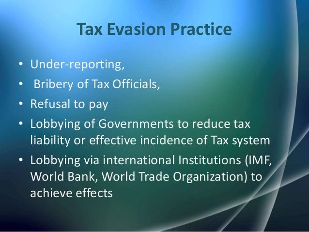 tax evasion and tax compliance Published by european centre for research training and development uk tax rate, compliance,evasion european journal of accounting auditing and finance research.