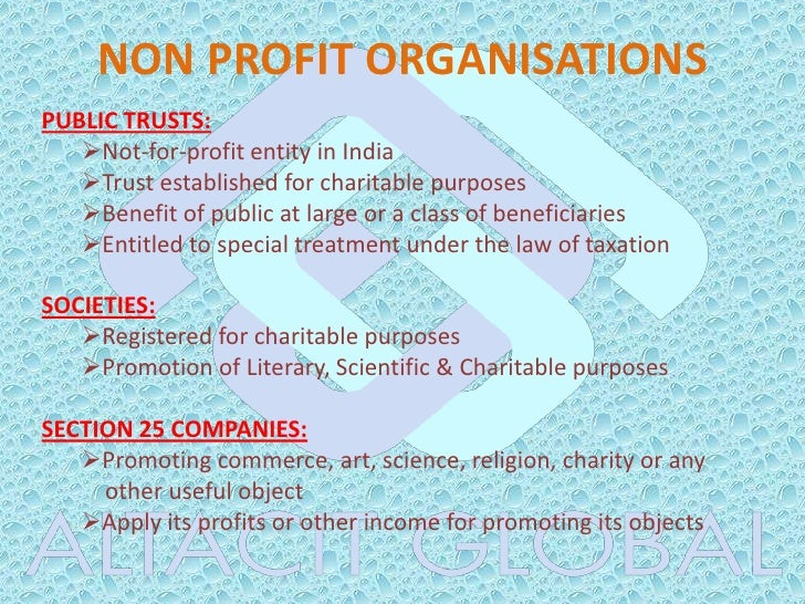 indian charitable trust act pdf
