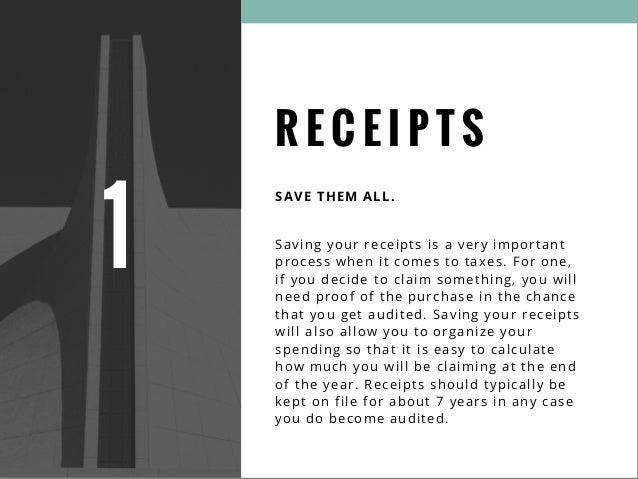 Tax filing tips Slide 3