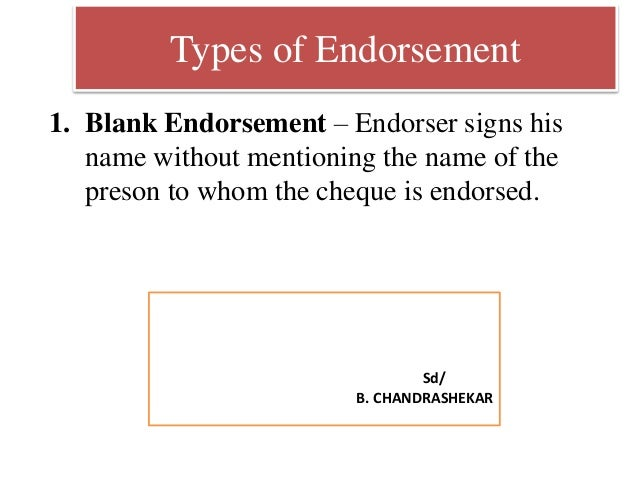 """Negotiable bill of lading example 1: """"to order"""" and blank endorsed."""
