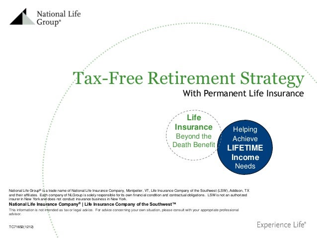 tax free retirement income
