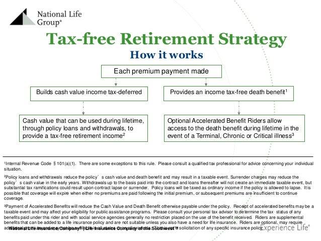 Tax free retirement
