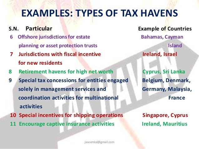 Cook Islands Tax Haven