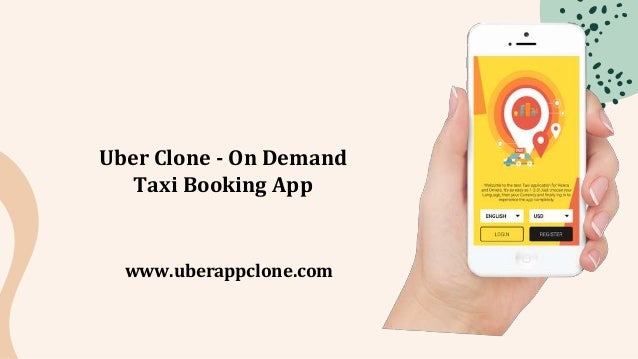 Uber Clone - On Demand Taxi Booking App www.uberappclone.com