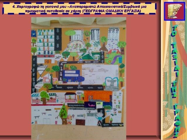 4. Χαρτογραφώ τη γειτονιά μου –Αναπαραριστώ Απειικονιστικά/Συμβοικά μια4. Χαρτογραφώ τη γειτονιά μου –Αναπαραριστώ Απειικο...