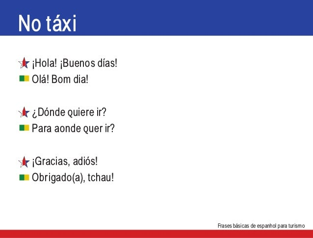 Frases Básicas Em Espanhol