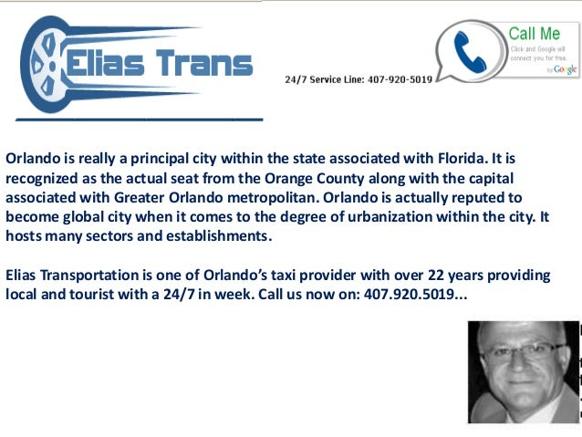 Orlando is really a principal city within the state associated with Florida. It is recognized as the actual seat from the ...