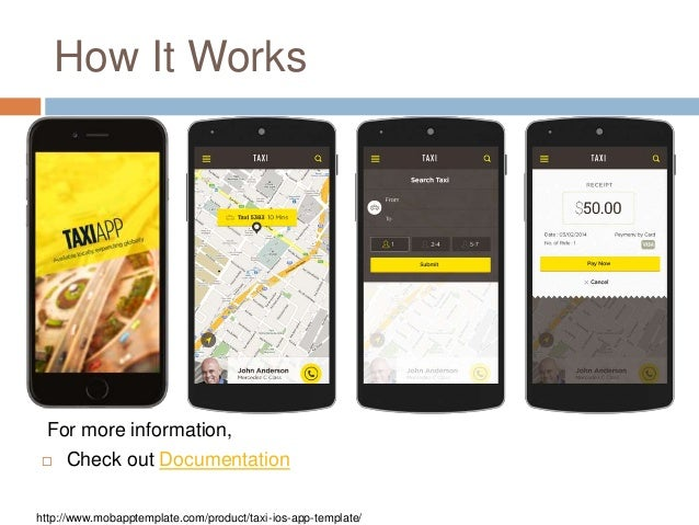 Build the Unique Travel Apps with Taxi iOS App Template - Only at $99