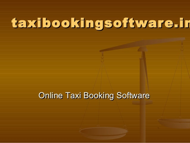 Taxi software, taxi booking software, cab booking software, cab manag…