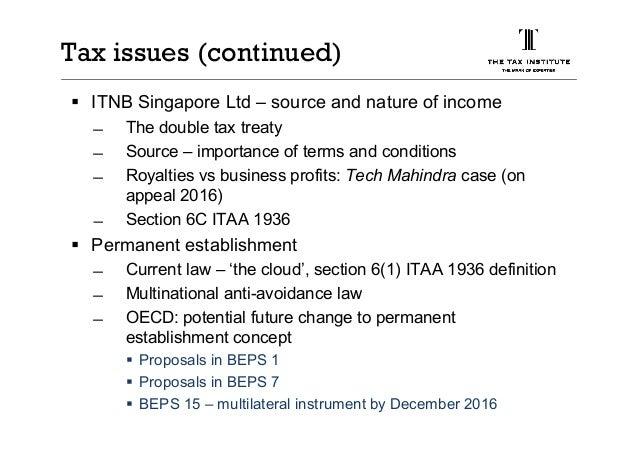 Tfd business presentation 2016 tax