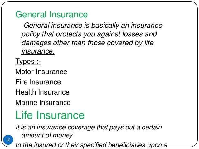 Ppt different types of life insurance plans powerpoint.