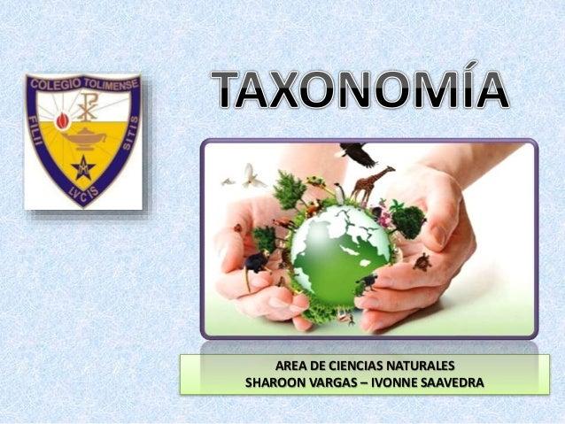 AREA DE CIENCIAS NATURALES SHAROON VARGAS – IVONNE SAAVEDRA