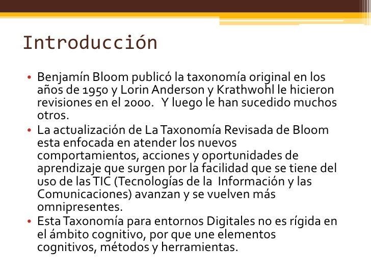 Taxonomia de bloom for Taxonomia de la jirafa