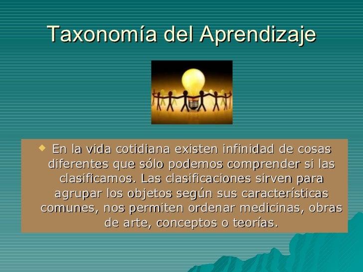 Taxonomia del aprendizaje for Taxonomia de la jirafa