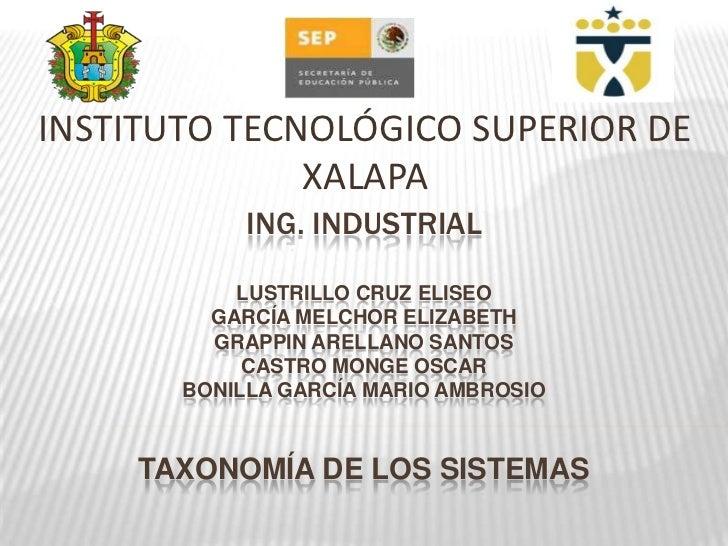INSTITUTO TECNOLÓGICO SUPERIOR DE              XALAPA            ING. INDUSTRIAL           LUSTRILLO CRUZ ELISEO         G...