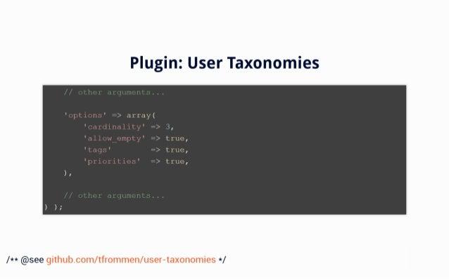 "Plugin:  User Taxonomies  -':2'u= :. = _ *gIIuu= nIt. .~  ' up':  Lulu:  =9 = ,Ii""r'. =§Y '     ur= i,; to'f1,nr= L_ I iiy..."