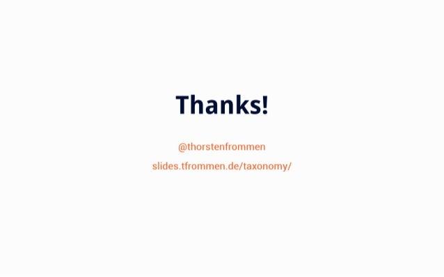 T['16i%  @thorstenfrommen  s  ides. tfr0mmen. de/ taxonomy/
