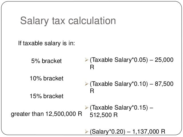 monthly paycheck tax calculator