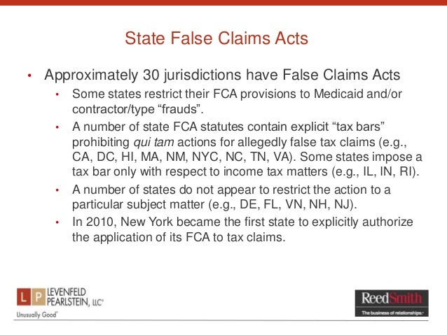 false claims act False claims act it does not constitute legal advice and does not represent the   the false claims act, 31 usc § 3729 et seq, provides for liability for triple.