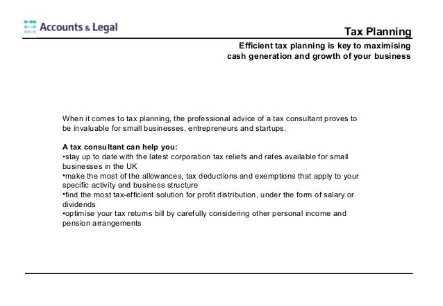 Tax planning for Small Businesses: Tips for keeping your Tax Returns …