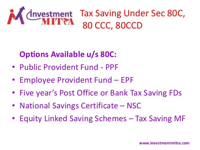 Tax Planning Through Prudent Investments