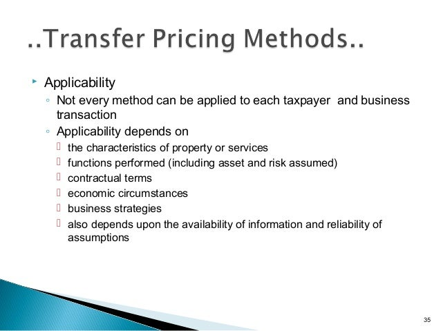 Transfer pricing regulations in india for Transfer pricing policy template