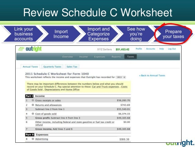 The Lowdown on Taxes for Etsy Sellers – Schedule C Worksheet