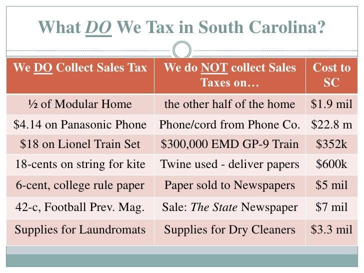 South Carolina Car Sales Tax Increase