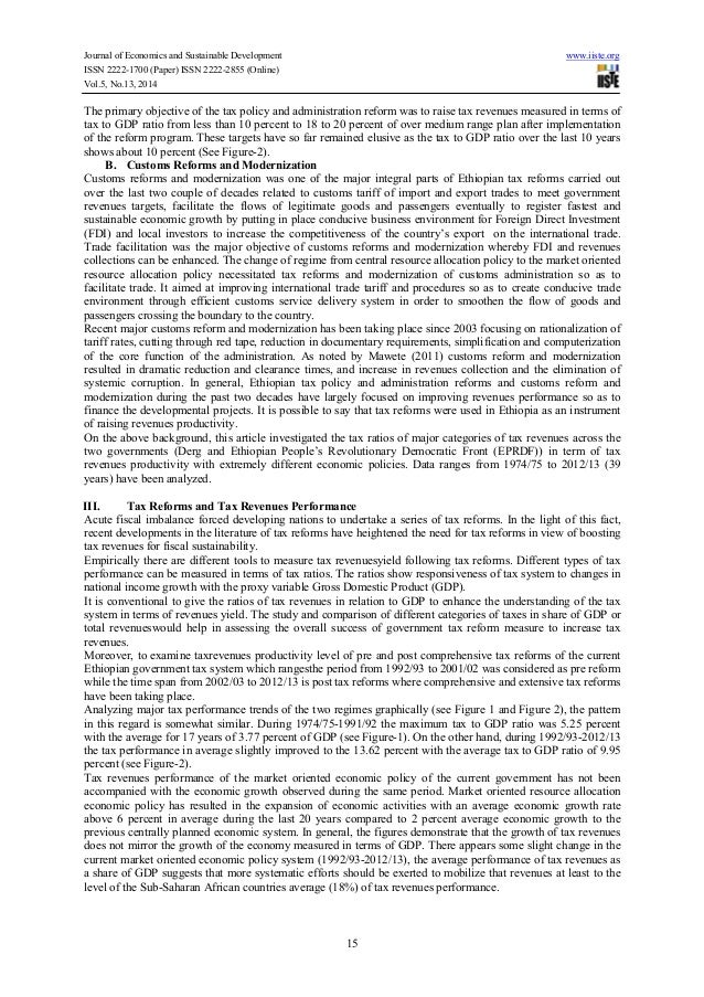 the ethiopian revenue and customs authority erca accounting essay In summary:-  fair and modern tax and customs administration: the tax audit  policy and  costs (to both erca and customers) and in terms of raising revenue   correct tax liabilities for a particular accounting or tax period, by examine of a .