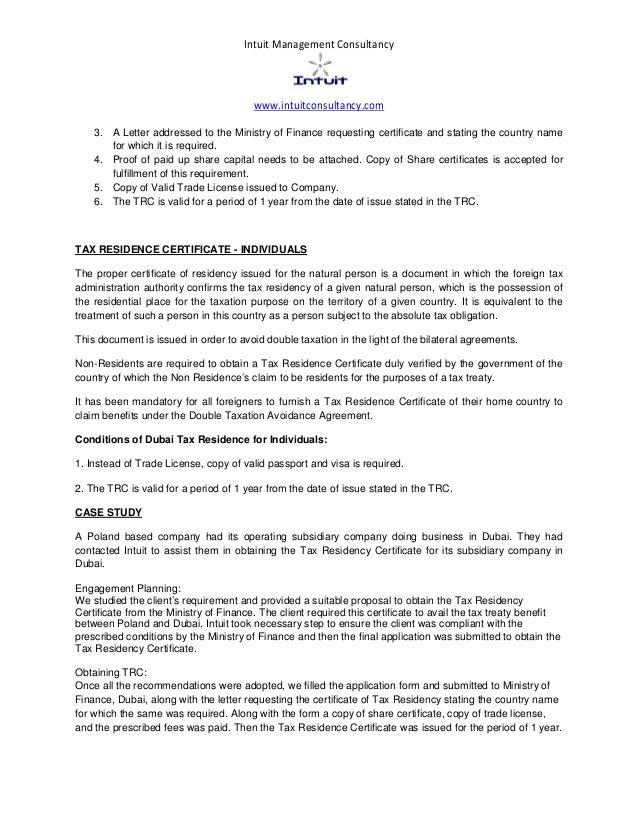 dubai-tax-residency-certificate-3-638 Sample Application Letter For Finance Person on for graduation, for training, summer job,