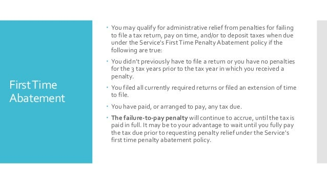Irs Tax Resolution Options For Individuals And Businesses