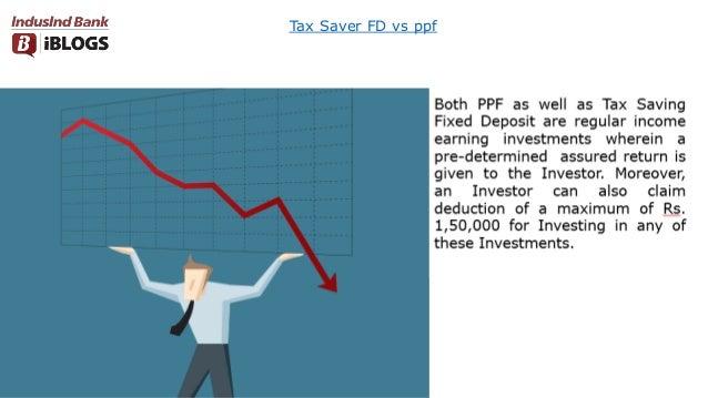 Tax Saver FD vs ppf