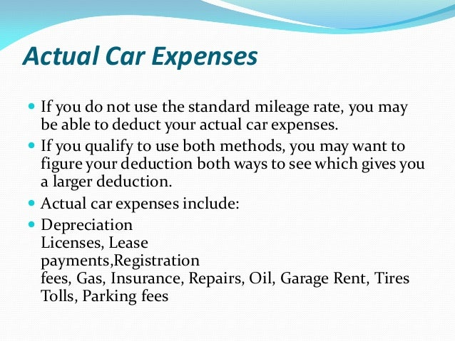 Can I Use Car Registration As Business Deduction