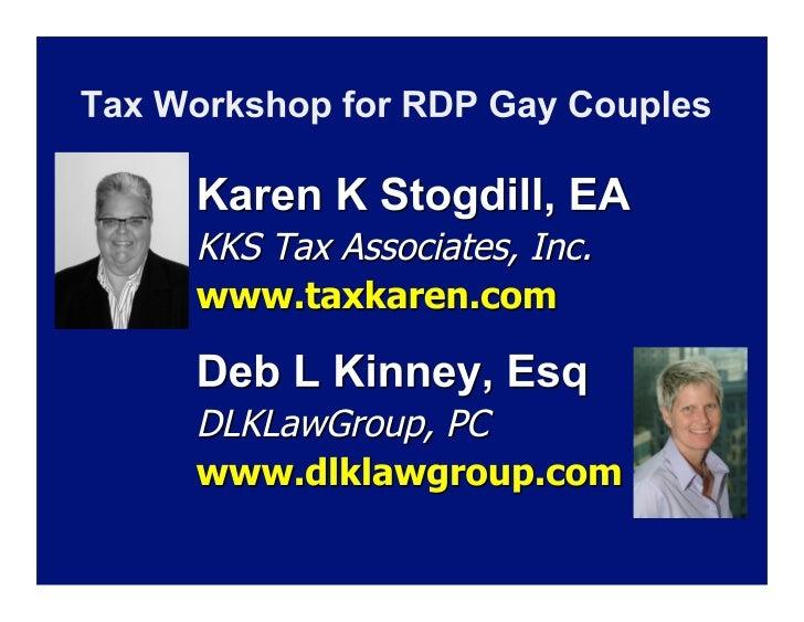 Karen K.                           Stogdill, EA, CEBS   Karen K Stogdill is a leading authority on Registered Domestic P...