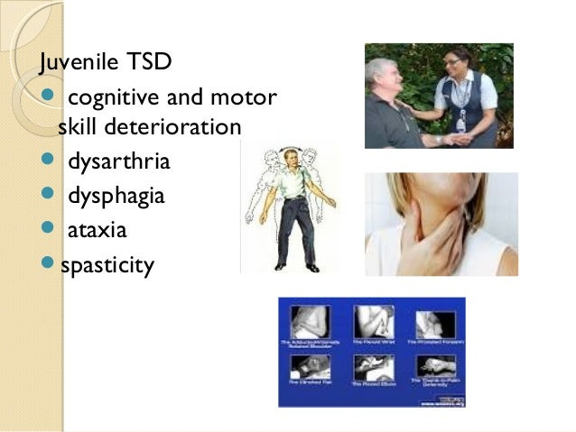 tay-sachs disease thesis statements Check out our top free essays on divorce effect america thesis statement to help you write your own essay brainiacom join now huntington's disease tay-sachs disease down syndrome klinefelter's syndrome turner syndrome cystic fibrosis include an introduction with.