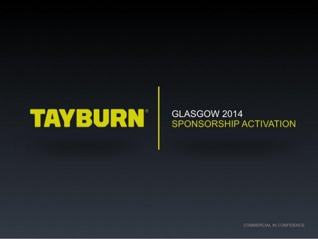 Tayburn sponsorship activation