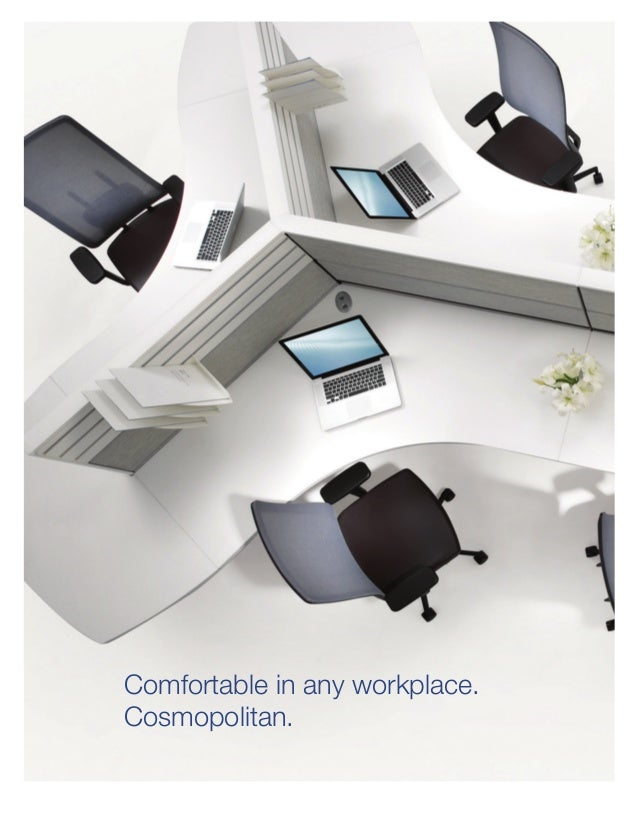Comfortable In Any Workplace. Cosmopolitan.
