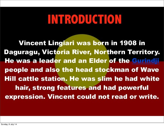 Station Eleven Quotes With Page Numbers: Vincent Lingiari
