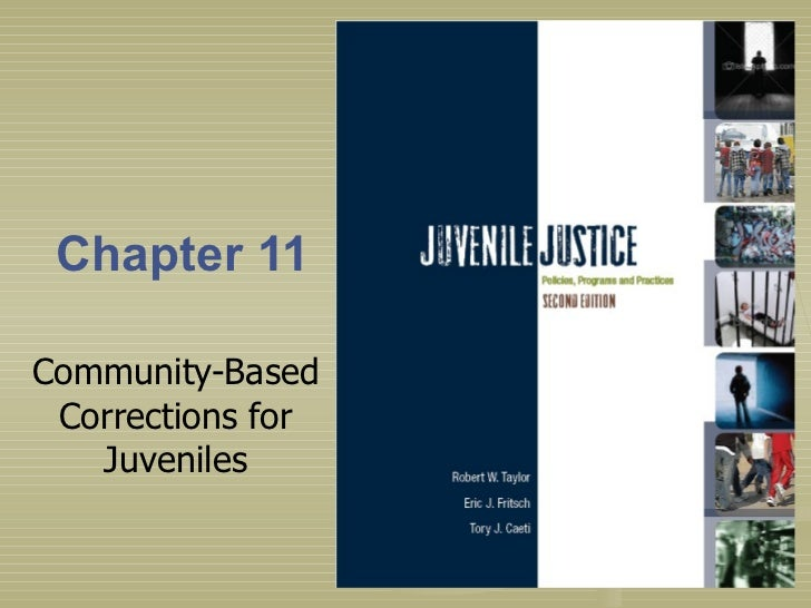 Chapter 11 Community-Based Corrections for Juveniles