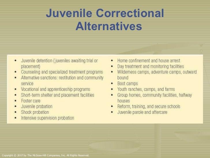 Alternatives to Community Corrections
