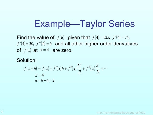 Taylor And Maclaurian Series
