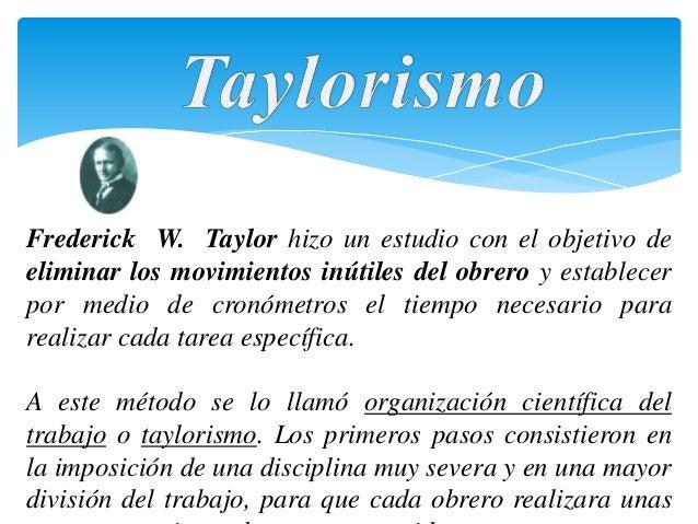 fordismo y taylorismo yahoo dating