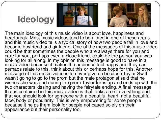 Taylor Swift You Belong With Me Textual Analysis