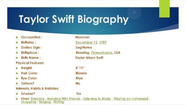 Taylor Swift Tour Dates