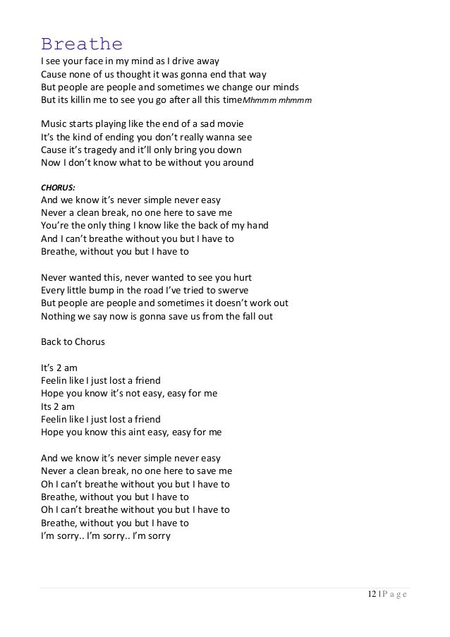 Lyric lyrics for small bump : Taylor swift lyrics