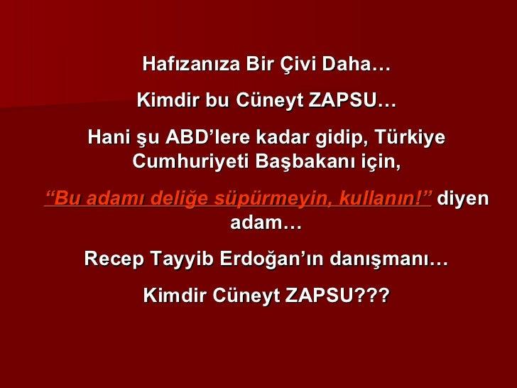"""Hafızanıza Bir Çivi Daha… Kimdir bu Cüneyt ZAPSU… Hani şu ABD'lere kadar gidip, Türkiye Cumhuriyeti Başbakanı için, """" Bu a..."""