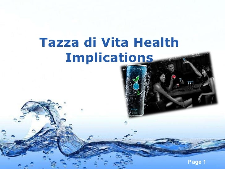 Tazza di Vita Health Implications