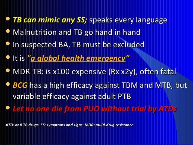 HIV plus TB:HIV plus TB: Expensive and fatal !Expensive and fatal !  1/31/3rdrd HIV have TBHIV have TB  Untreated:Untrea...