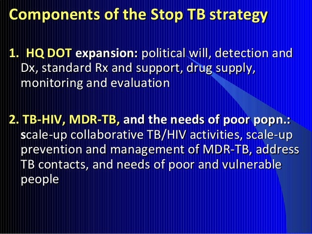 Extra Pulmonary TB: CNS Disseminated TB Lymphatics, pleura, bones and joints Urogenital Skin
